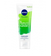 NIVEA URBAN SKIN DETOX NIGHT CREAM MASCARILLA DETOX 1 MINUTO 75 ML