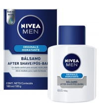 NIVEA FOR MEN BALSAMO SUAVE REGENERADOR AFTER SHAVE 100 ML