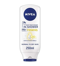 NIVEA SHOWER GEL HIDRATANTE BAJO LA DUCHA REAFIRMANTE Q10 P/SECAS 250 ML