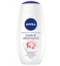 NIVEA CARE & DIAMOND GEL DE DUCHA 250ML