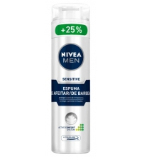 NIVEA MEN ESPUMA AFEITAR SENSITIVE