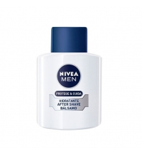 NIVEA FOR MEN PROTEGE & CUIDA BÁLSAMO AFTER SHAVE HIDRATANTE 100 ML