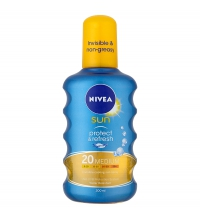 NIVEA INVISIBLE PROTECCION SPF 20 200 ML