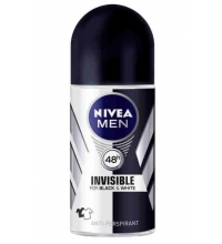 NIVEA MEN INVISIBLE BLACK & WHITE DESODORANTE ROLL ON 50 ML