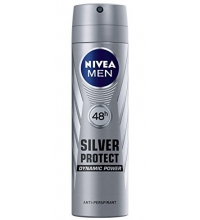 NIVEA MEN SILVER PROTECT DESODORANTE SPRAY 200 ML