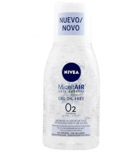 NIVEA MICELLAIR OIL FREE O2 DESMAQUILLANTE OJOS 125ML