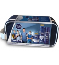 NIVEA MEN PROTEGE & CUIDA DEO 200ML+ESPUMA AFEITAR 200ML+AFTER SHAVE 100ML+NECESER