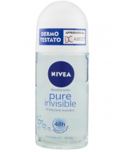 NIVEA PURE INVISIBLE DESODORANTE ROLL-ON 50ML