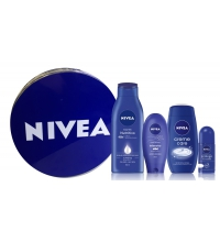 NIVEA BODY MILK 400ML+CREMA MANOS 100ML +GEL DUCHA 250ML+DESORORANTE ROLL-ON 50ML