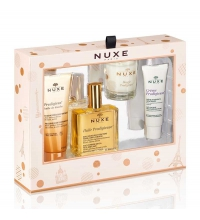 NUXE HUILE PRODIGIEUSE DRY OIL 100 ML SET REGALO 4 PIEZAS