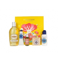 L'OCCITANE EN PROVENCE CREMA MANOS 30 ML + SHOWER OIL 250 ML + SHAMPOO 35 ML + JABÓN KARITÉ 50 GR + LECHE CORPORAL 75 ML