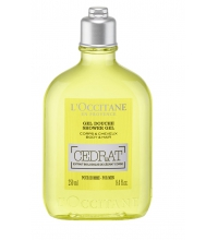 L'OCCITANE EN PROVENCE EAU DE TOILETTE CÉDRAT SHOWER GEL 250 ML