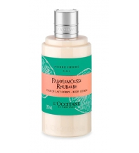 L'OCCITANE EN PROVENCE PAMPLEMOUSSE RHUBARBE BODY LOTION 250 ML