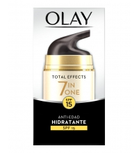 OLAY TOTAL EFFECTS X 7 CREMA DIA ANTIEDAD