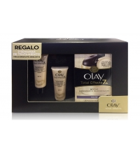 OLAY TOTAL EFFECTS X 7 CREMA NOCHE 37 ML + 2 X TOTAL EFFECTS DIA 7 ML SET REGALO
