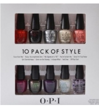 OPI THE PERFECT TEN EDICION COCA COLA (10 LACAS DE UÑAS) SET