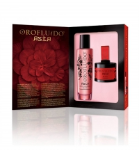 OROFLUIDO ASIA ELIXIR 50 ML + COLORETE PERFUMADO 4 ML SET REGALO