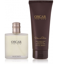 OSCAR DE LA RENTA OSCAR FOR MEN EDT 100 ML + S/G 200 ML SET
