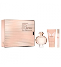 PACO RABANNE OLYMPEA EDP 50 ML + B/L 75 ML + MINI 10 ML SET REGALO
