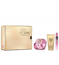 PACO RABANNE LADY MILLION EMPIRE EDP 50 ML + B/L 75 ML + MINI 10 ML SET REGALO