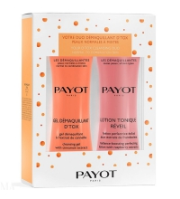PAYOT GEL DEMAQUILLANTE DETOX 400 ML + LOCION DESMAQUILLANTE 400 ML SET REGALO