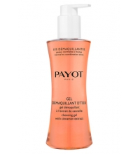 PAYOT GEL DEMAQUILLANT DETOX CON EXTRACTO DE CANELA 125 ML