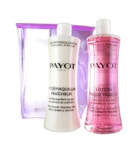 PAYOT LECHE DESMAQUILLANTE 400 ML + LOCION TONICA FRAICHE 400 ML SET REGALO
