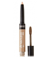 PHYSICIANS FORMULA EYE BOOSTER LAST FEATHER BROW FIBER HIGHLIGHTER DUO LIGHT BROWN 0.6GR