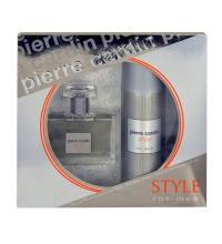 PIERRE CARDIN STYLE FOR MEN EDT 50 ML + DEO SPRAY 200 ML SET