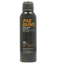 PIZ BUIN INSTANT GLOW SUN SPRAY SPF 15 150 ML