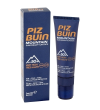 PIZ BUIN MOUNTAIN SUNCREAM + LIPSTICK SPF 50+