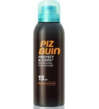 PIZ BUIN PROTECT AND COOL SUN MOUSSE SPF 15 150 ML