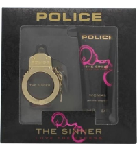 POLICE THE SINNER FOR WOMEN EDT 30 ML + B/L 100 ML SET REGALO