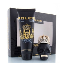 POLICE TO BE THE KING EDT 40 ML + SHAMPOO 100 ML SET REGALO