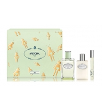 PRADA INFUSION D´IRIS EDP 100 ML + B/ LOC 100 + ROLL ON 10 ML SET REGALO