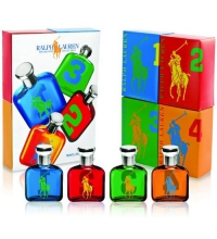 RALPH LAUREN BIG PONY MINIATURAS HOMBRE 15 ML X 4 SET REGALO