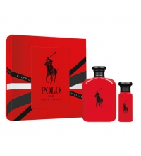 RALPH LAUREN POLO RED EDT 125 ML + EDT 30 ML SET REGALO