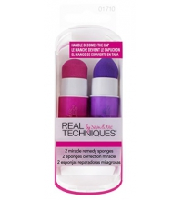 REAL TECHNIQUES MIRACLE REMEDY-DUO ESPONJAS DE MAQUILLAJE
