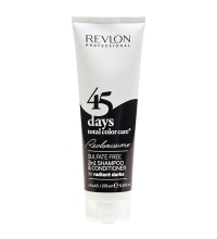 REVLON 45 DAYS CHAMPU/ACONDICIONADOR 275 ML RADIANT DARKS