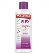 REVLON FLEX KERATIN CHAMPÚ VOLUMEN 650ML