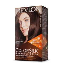 REVLON TINTE COLORSILK 33 DARK SOFT BROWN