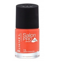 RIMMEL LONDON NAIL POLISH SALON PRO HAPPILY EVIE AFTER 115 12ML