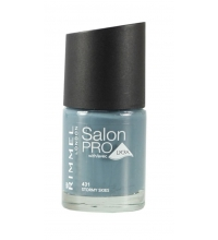 RIMMEL LONDON NAIL POLISH SALON PRO STORMY SKIES 431 12ML