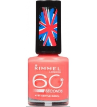 RIMMEL LONDON 60 SECOND INSTYLE CORAL 415 8ML