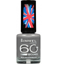 RIMMEL LONDON 60 SECOND MAN OVERBOARD 803 8ML