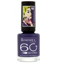 RIMMEL LONDON 60 SECOND MIDNIGHT RENDEZVOUS 613 8ML