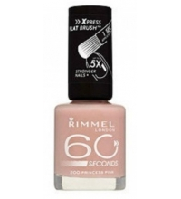 RIMMEL LONDON 60 SECOND PRINCESS PINK 200 8ML