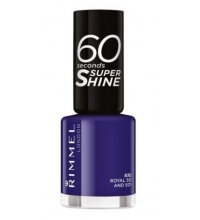 RIMMEL LONDON 60 SECOND ROYAL SO AND SO 830 8ML