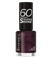 RIMMEL LONDON 60 SECOND BLACK CHERRIES 345 8ML