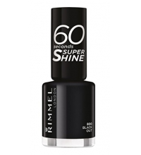 RIMMEL LONDON 60 SECOND BLACK OUT 800 8ML